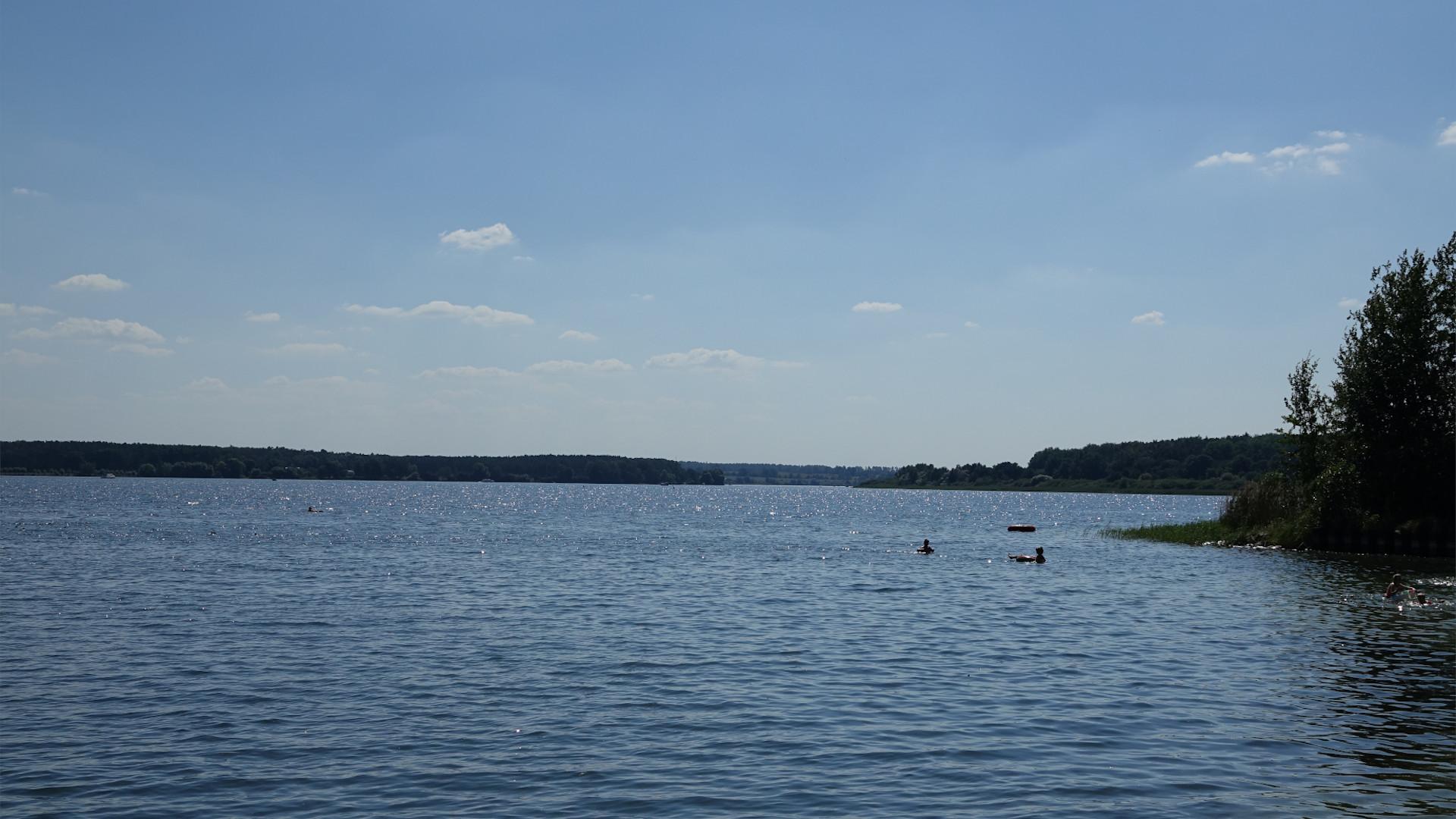 Blick über den Flesensee